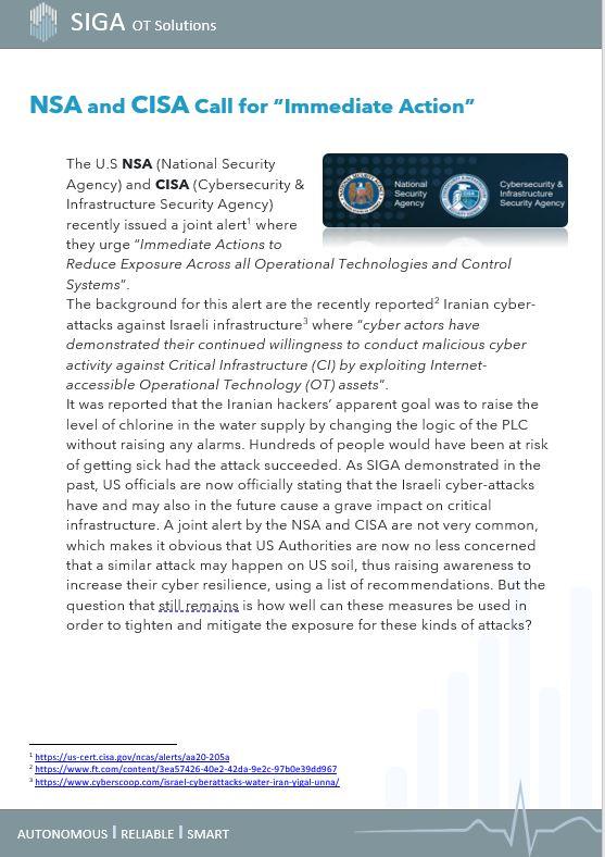 NSA & CISA
